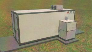 Мобильная система гидропонного выращивания зерна
